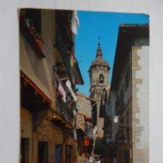 Postales: FUENTERRABIA: CALLE DE LAS TIENDAS. Lote 49784371