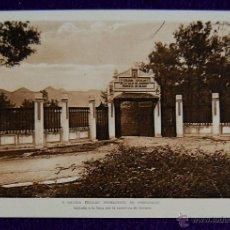 Postales: POSTAL DE LA COLONIA ESCOLAR DE PEDERNALES, VIZCAYA. Nº1 ENTRADA POR CARRETERA DE BERMEO. AÑOS 30 . Lote 49863827