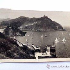 Postales: SAN SEBASTIAN / VISTA DESDE EL MONTE URGULL / FOTO GALARZA Nº 359 / CIRCULADA. Lote 49880631