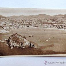 Postales: SAN SEBASTIAN / VISTA DESDE EL MONTE IGUELDO / FOTO GALARZA Nº 37 HR / SIN CIRCULAR. Lote 49880723