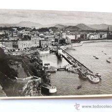 Postales: SAN SEBASTIAN / VISTA DESDE EL MONTE URGULL / FOTO GALARZA Nº 5 / SIN CIRCULAR. Lote 49880784