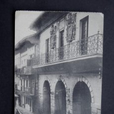 Postales: POSTAL DE FUENTERRABIA / CALLE MAYOR / TIBURCIO BERROTARAN / AÑOS 20 / SIN CIRCULAR. Lote 49899194