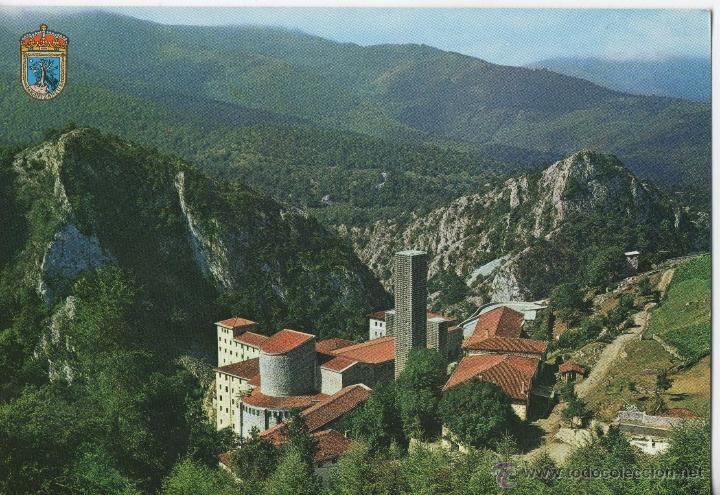 POSTAL-VISTA DE ARANTZAZU (Postales - España - País Vasco Moderna (desde 1940))