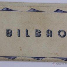 Postales: P-1578. BILBAO. BLOCK DE 12 MINI POSTALES EN ACORDEON. AÑOS CINCUENTA.. Lote 49979170