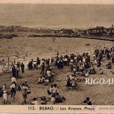 Postkarten - BILBAO- LAS ARENAS.PLAYA - 50045776