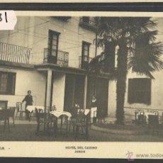Postales: AZPEITIA - HOTEL DEL CASINO - AMAYA - (33181). Lote 50110017