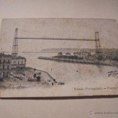 Postales: BILBAO ( PORTUGALETE ) PUENTE VIZCAYA - NADAL PARISA160 -14X9 CM.. Lote 50427746