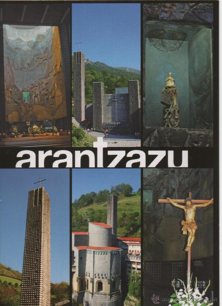 POSTAL-SANTUARIO DE ARANTZAZU (Postales - España - País Vasco Moderna (desde 1940))