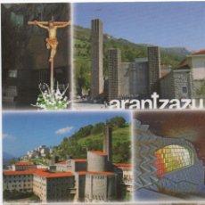 Postales: POSTAL-SANTUARIO DE ARANTZAZU. Lote 50584371