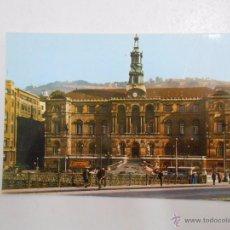 Postales: POSTAL DE BILBAO. PUENTE DEL GENERAL MOLA Y AYUNTAMIENTO. TDKP3. Lote 50698115