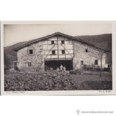 Postales: PAIS VASCO CASERIO VASCO. Lote 50935014