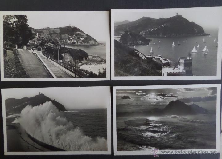 SAN SEBASTIAN , LOTE DE 4 POSTALES. (Postales - España - País Vasco Moderna (desde 1940))