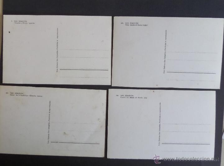 Postales: San Sebastian , lote de 4 postales. - Foto 2 - 51179272
