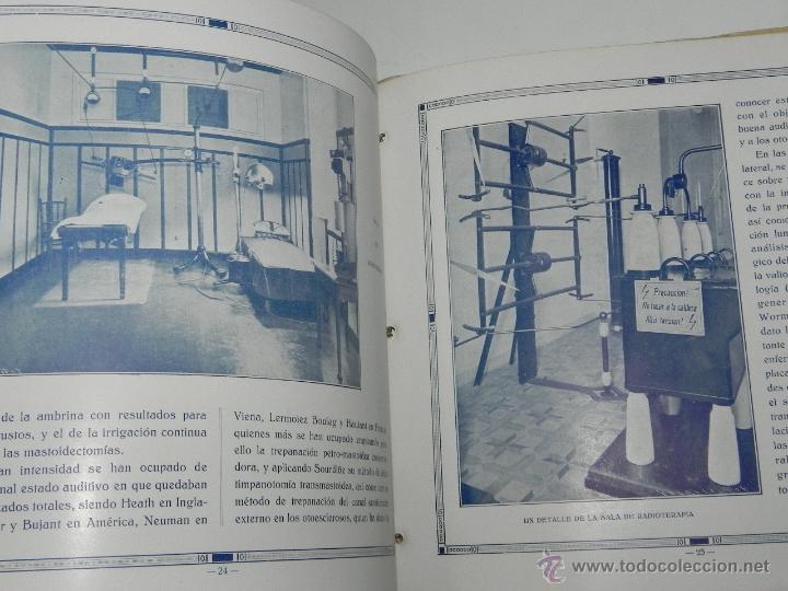 Postales: CATALOGO DE LA CLINICA SAN IGNACIO, SAN SEBASTIAN, GUIPUZCOA, XXV ANIVERSARIO 1906 - 1931, TIENE 45 - Foto 3 - 51351225