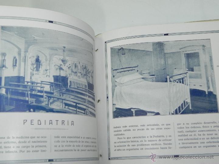 Postales: CATALOGO DE LA CLINICA SAN IGNACIO, SAN SEBASTIAN, GUIPUZCOA, XXV ANIVERSARIO 1906 - 1931, TIENE 45 - Foto 4 - 51351225