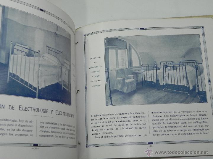 Postales: CATALOGO DE LA CLINICA SAN IGNACIO, SAN SEBASTIAN, GUIPUZCOA, XXV ANIVERSARIO 1906 - 1931, TIENE 45 - Foto 5 - 51351225
