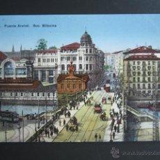 Postales: POSTAL VIZCAYA. BILBAO. PUENTE ARENAL.. Lote 51452130