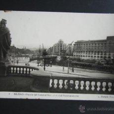 Postales: POSTAL VIZCAYA. BILBAO. PUENTE DEL GENERAL MOLA DESDE EL AYUNTAMIENTO.. Lote 51453159