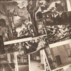 Cartoline: SAN SEBASTIÁN: 18 POSTALES ANTIGUAS DEL MUSEO DE SAN TELMO. SERT. Lote 51601935