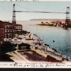 Postales: P- 2767. POSTAL DE BILBAO. VISTA GENERAL DE PORTUGALETE Y LAS ARENAS.. Lote 51875835