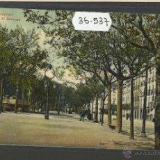 Postales: SAN SEBASTIAN - BOULEVARD - DR TRENKLER CO - (36537). Lote 51888836