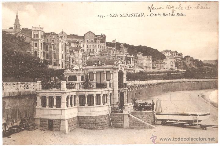 Banos San Sebastian.San Sebastian Caseta Real De Banos