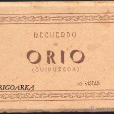 Postales: RECUERDO DE ORIO (GUIPUZCOA).- 10 VISTAS- COMPLETO. Lote 52169816