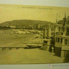 Postales: POSTAL S.SEBASTIAN-CASETA REAL DE BAÑOS --BB. Lote 52197585