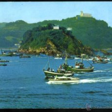 Postales: Nº 65 SAN SEBASTIÁN. REGATA DE TRAINERAS. EDICIONES MANIPEL. . Lote 52539919