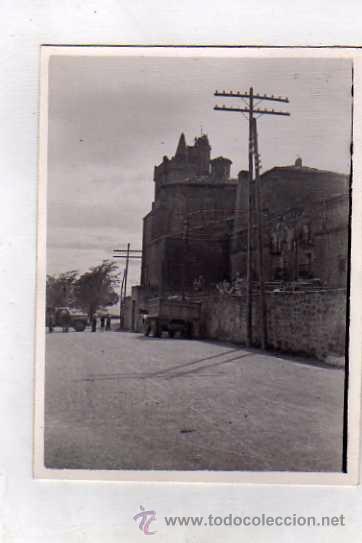 FOTOGRAFÍA LAGUARDIA, IGLESIA EN LA MURALLA. LAGUARDIA ALAVA. FOTO SOMOZA. ZAMORA (Postales - España - Pais Vasco Antigua (hasta 1939))