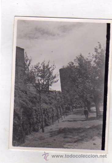 FOTOGRAFÍA MURALLAS LAGUARDIA ALAVA. FOTO SOMOZA. ZAMORA (Postales - España - Pais Vasco Antigua (hasta 1939))