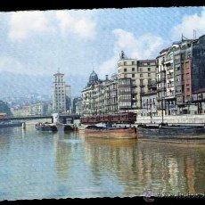 Postales: BILBAO - MUELLE DE RIPA.. Lote 52628572