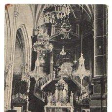 Postkarten - TARJETA POSTAL INTERIOR DEL SANTUARIO DE BEGOÑA. BILBAO. CIRCA 1930 - 52887748