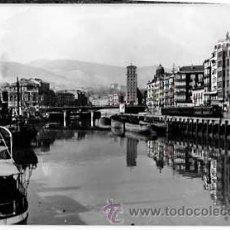 Postales: BILBAO RIA Y MUELLE DE RIPA. GARCIA GARRABELLA Nº 61. ESCRITA. Lote 52963563
