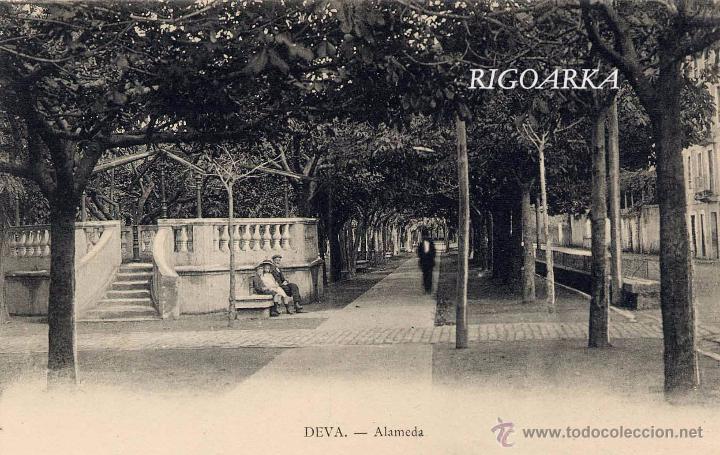 DEVA (GUIPUZCOA).- ALAMEDA (Postales - España - Pais Vasco Antigua (hasta 1939))