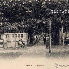 Postales: DEVA (GUIPUZCOA).- ALAMEDA. Lote 52998221