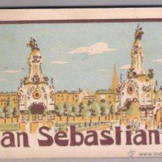 Postales: LIBRITO 20 POSTALES DE SAN SEBASTIAN. Lote 53226624