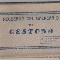 Postales: T. POSTALES RECUERDO DEL BALNEARIO DE CESTONA . Lote 53244116