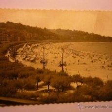 Postales: POSTAL S.SEBASTIAN-PLAYA CONCHA ESCRITA BB. Lote 53567251