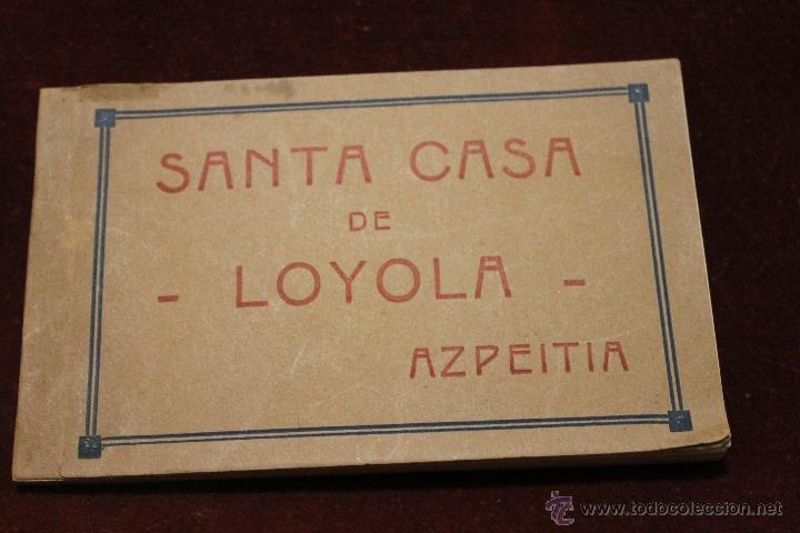 20 POSTALES SANTA CASA DE LOYOLA AZPEITIA, GUIPUZCOA, EDICION JOSE IRAZU, HOTEL LOYOLA (Postales - España - Pais Vasco Antigua (hasta 1939))