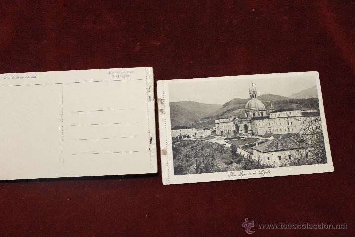 Postales: 20 POSTALES SANTA CASA DE LOYOLA AZPEITIA, GUIPUZCOA, EDICION JOSE IRAZU, HOTEL LOYOLA - Foto 8 - 53716255