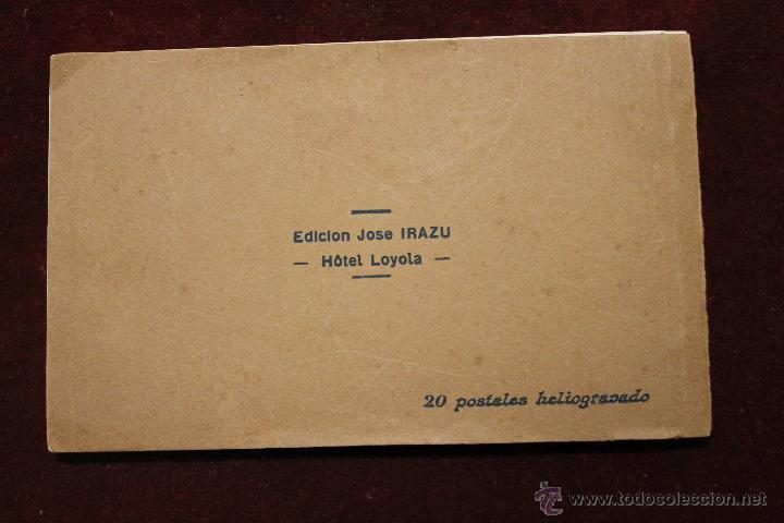 Postales: 20 POSTALES SANTA CASA DE LOYOLA AZPEITIA, GUIPUZCOA, EDICION JOSE IRAZU, HOTEL LOYOLA - Foto 9 - 53716255