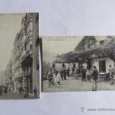 Postales: 2 REPRODUCCIONES DE ANTIGUAS POSTALES DE BILBAO.. Lote 54393985