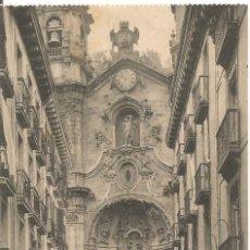 Postales: ANTIGUA POSTAL 271 SAN SEBASTIAN IGLESIA DE SANTA MARIA FOTO ED G. G. GALARZA NE NC. Lote 54585572