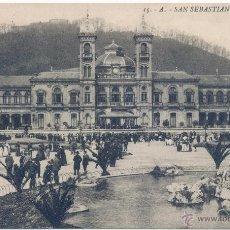 Postales: SAN SEBASTIAN - GRAN CASINO - G.GALANZA Nº 15. Lote 54733818