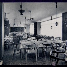 Postales: POSTAL DE VITORIA (ALAVA). HOTEL RESTAURANTE PARAMO, COMEDOR. EDICIÓN HUECOGRABADO FOURNIER. AÑOS 50. Lote 54760268