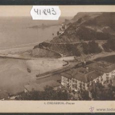 Postales: ONDARROA - 4 - PLAYAS - ROISIN - (41843). Lote 54788151
