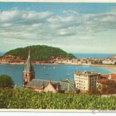 Postales: POSTAL SAN SEBASTIAN - VISTA PARCIAL DESDE ALDAPETA - FOTO MANÉN. Lote 54790273
