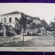 Postales: POSTAL DE VITORIA (ALAVA). CUARTEL DE CABALLERIA. EDIC.ARRIBAS (ZARAGOZA). 1930-40. Lote 54987993