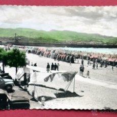 Postales: POSTAL DE ALGORTA ( VIZCAYA): PLAYA. Lote 55037557